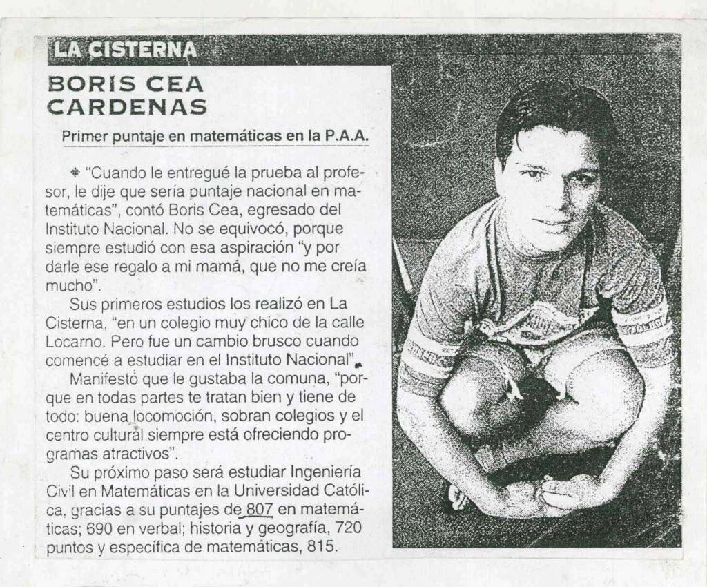 Diario la tercera,1996